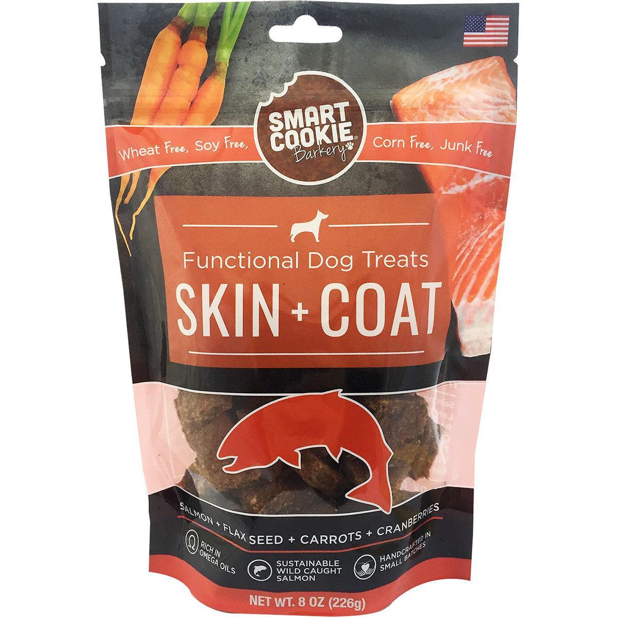 Smart Cookie Barkery Skin & Coat Salmon Dog Treats