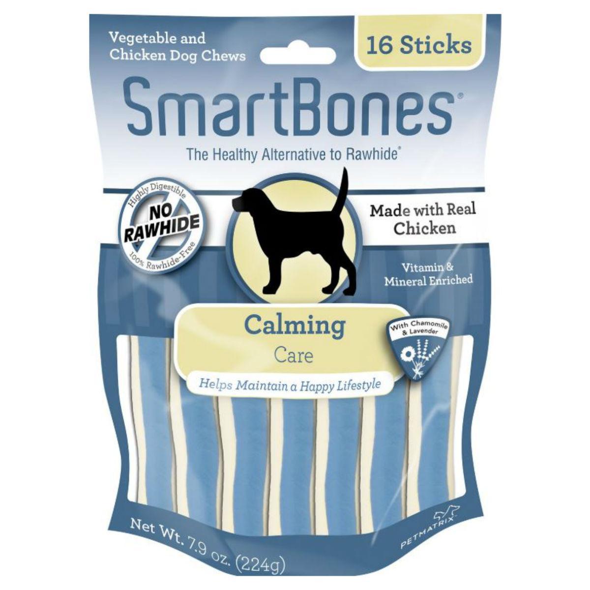 SmartBones Functional Sticks Dog Treat - Calming