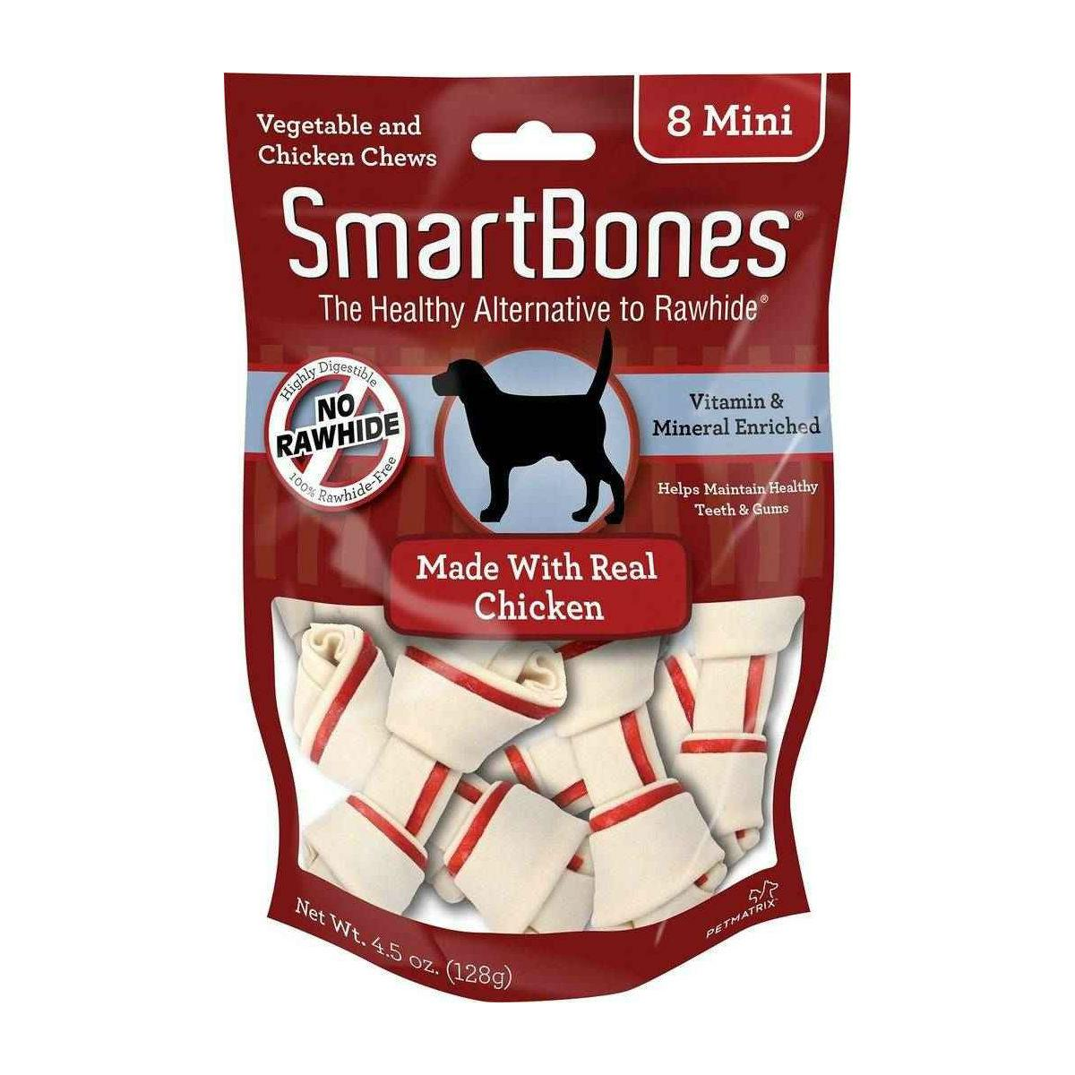 SmartBones Chew Bones Dog Treats - Chicken