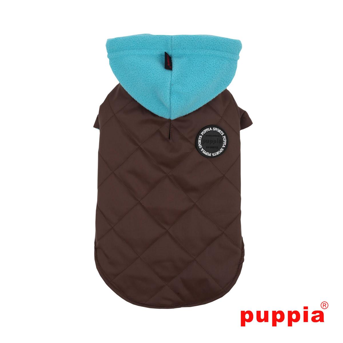 Snowcap Dog Coat by Puppia - Brown