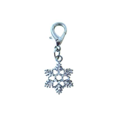 Snowflake Collar Charm