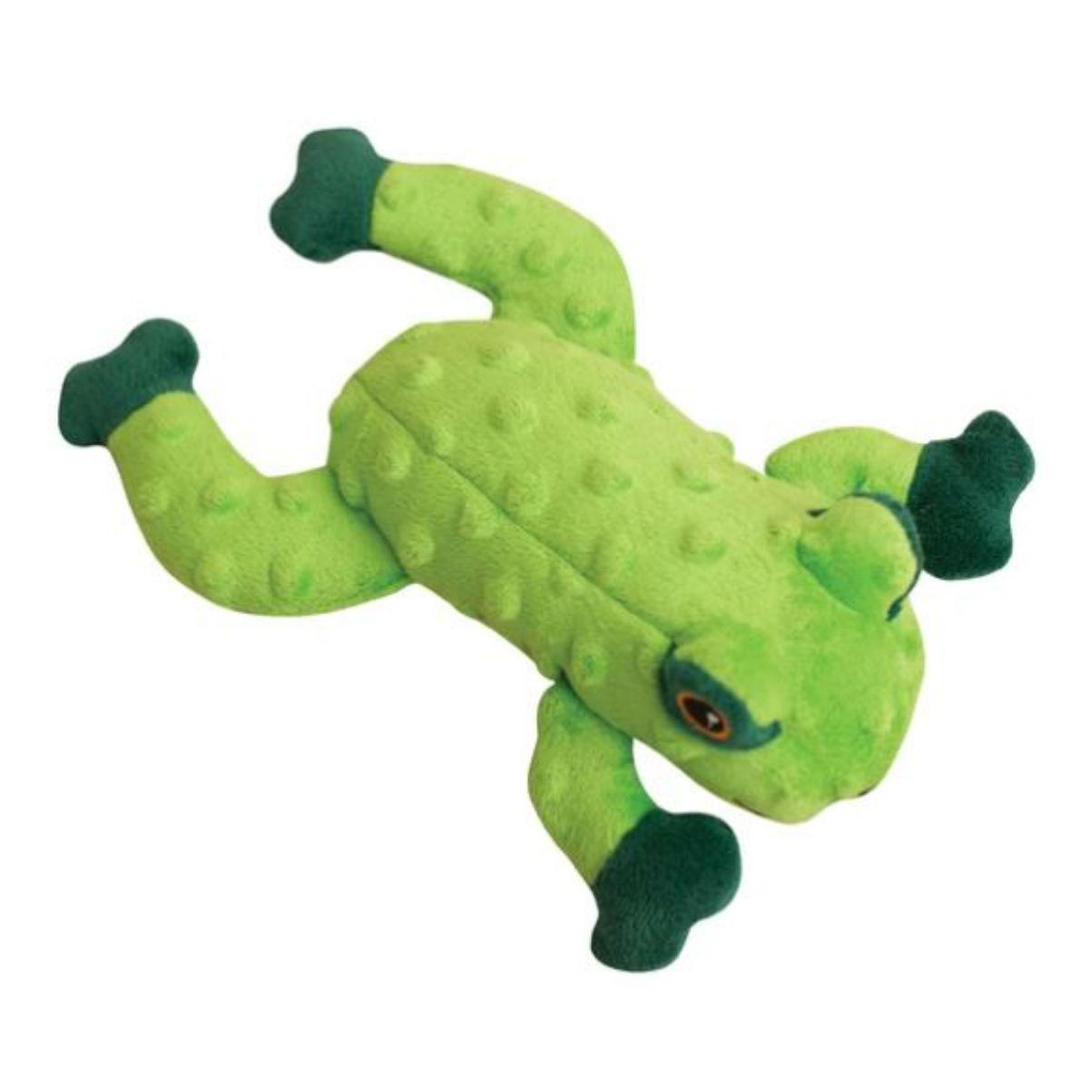 Snugarooz Lilly the Frog Dog Toy - Green
