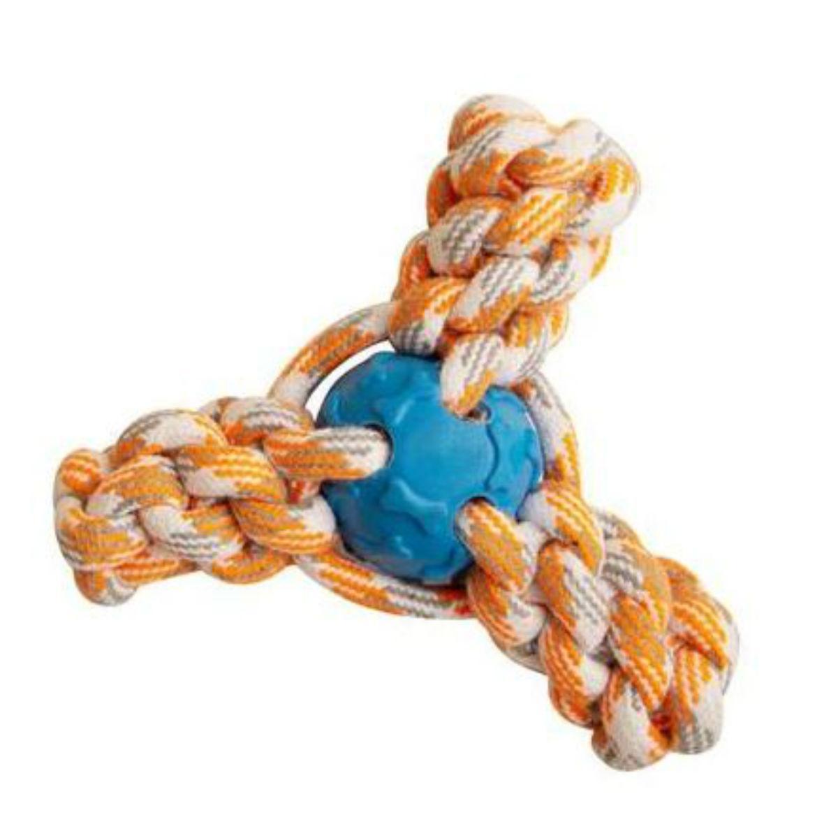 Snugarooz Fling 'N Fun Rope Dog Toy - Mini