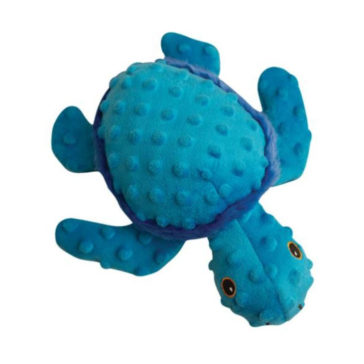 Snugarooz Tucker the Turtle Dog Toy - Blue
