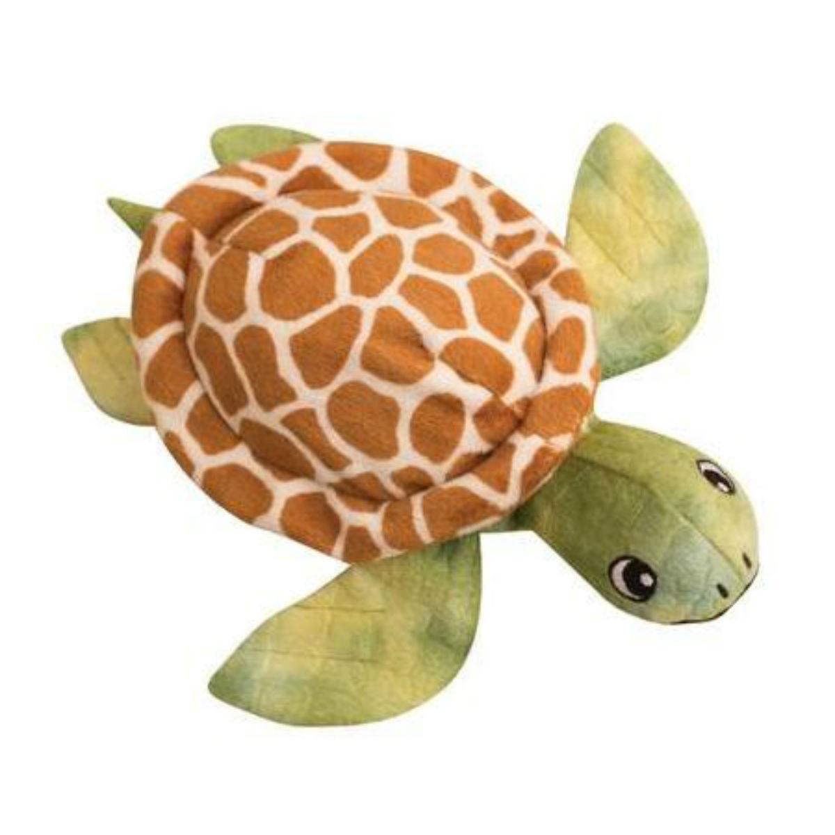 Snugarooz Shelldon the Turtle Dog Toy - Green