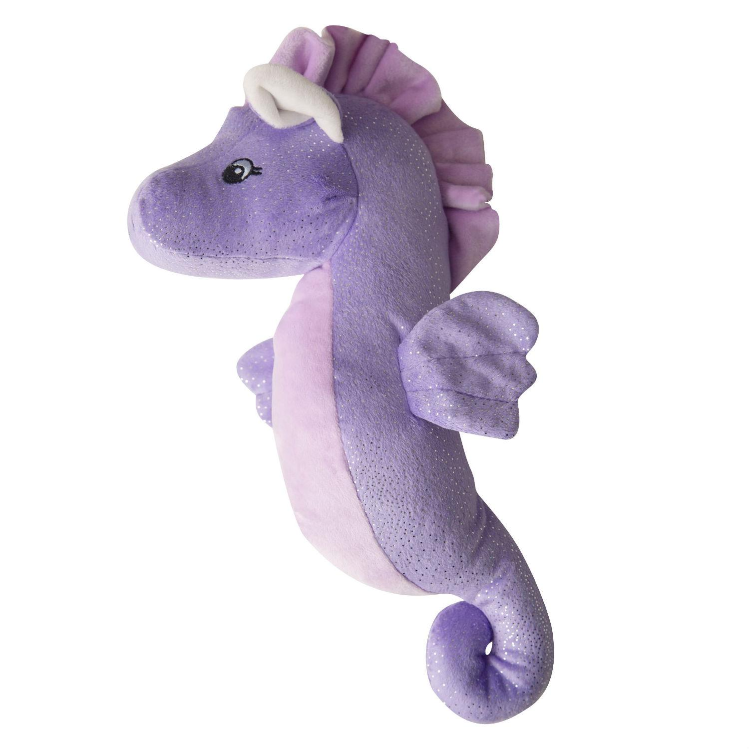 Snugarooz Shelly the Sea Horse Dog Toy - Purple