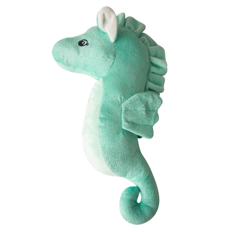 Snugarooz Sandy the Sea Horse Dog Toy - Teal
