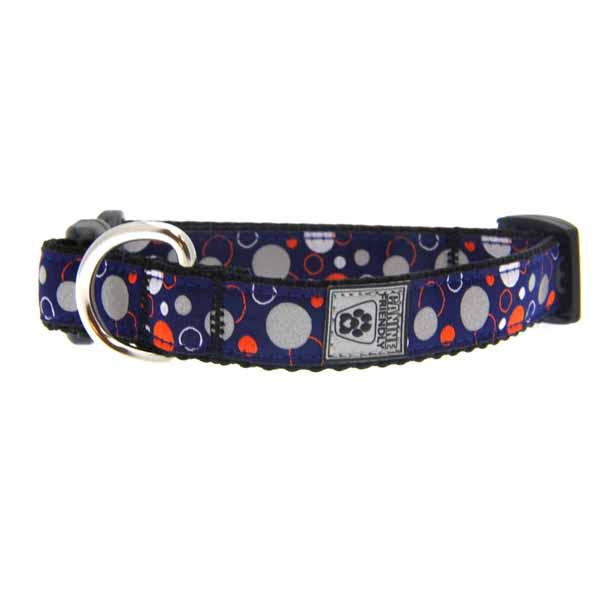 Soda Pop Reflective Dog Collar - Blue