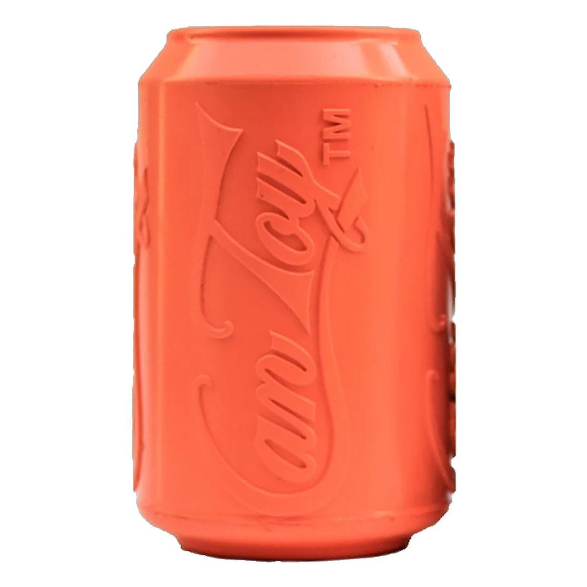 SodaPup Can Dog Toy - Orange