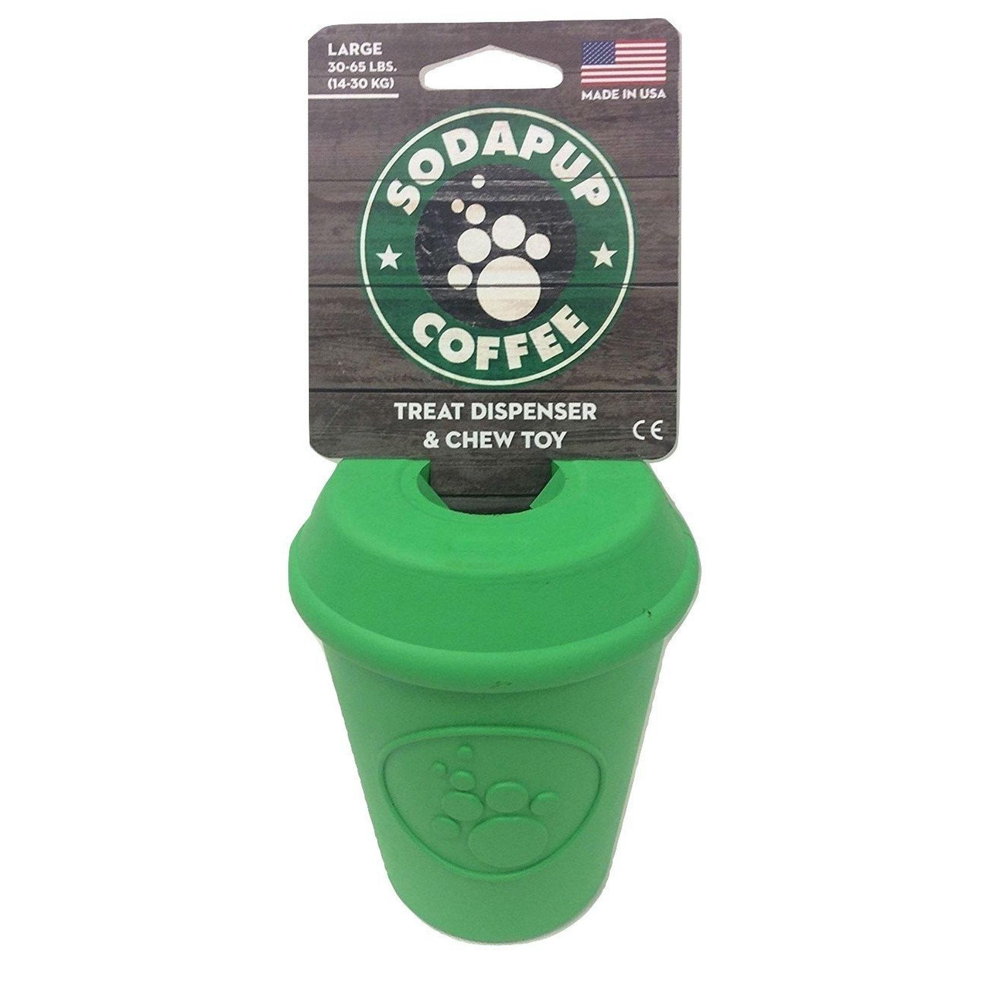 SodaPup Coffee Cup Dog Toy