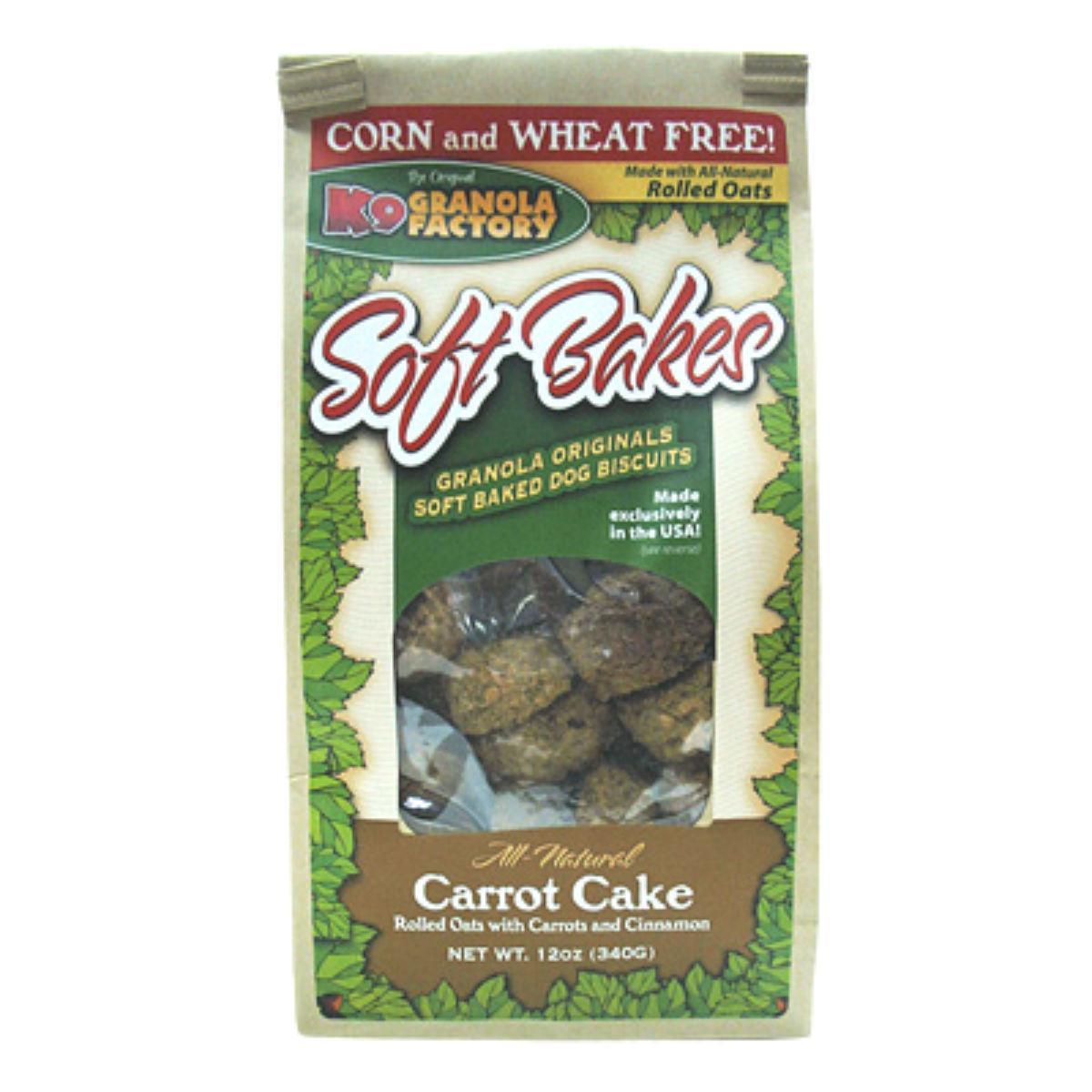 K9 Granola Factory Soft Bakes Dog Treat - Carrot Cake
