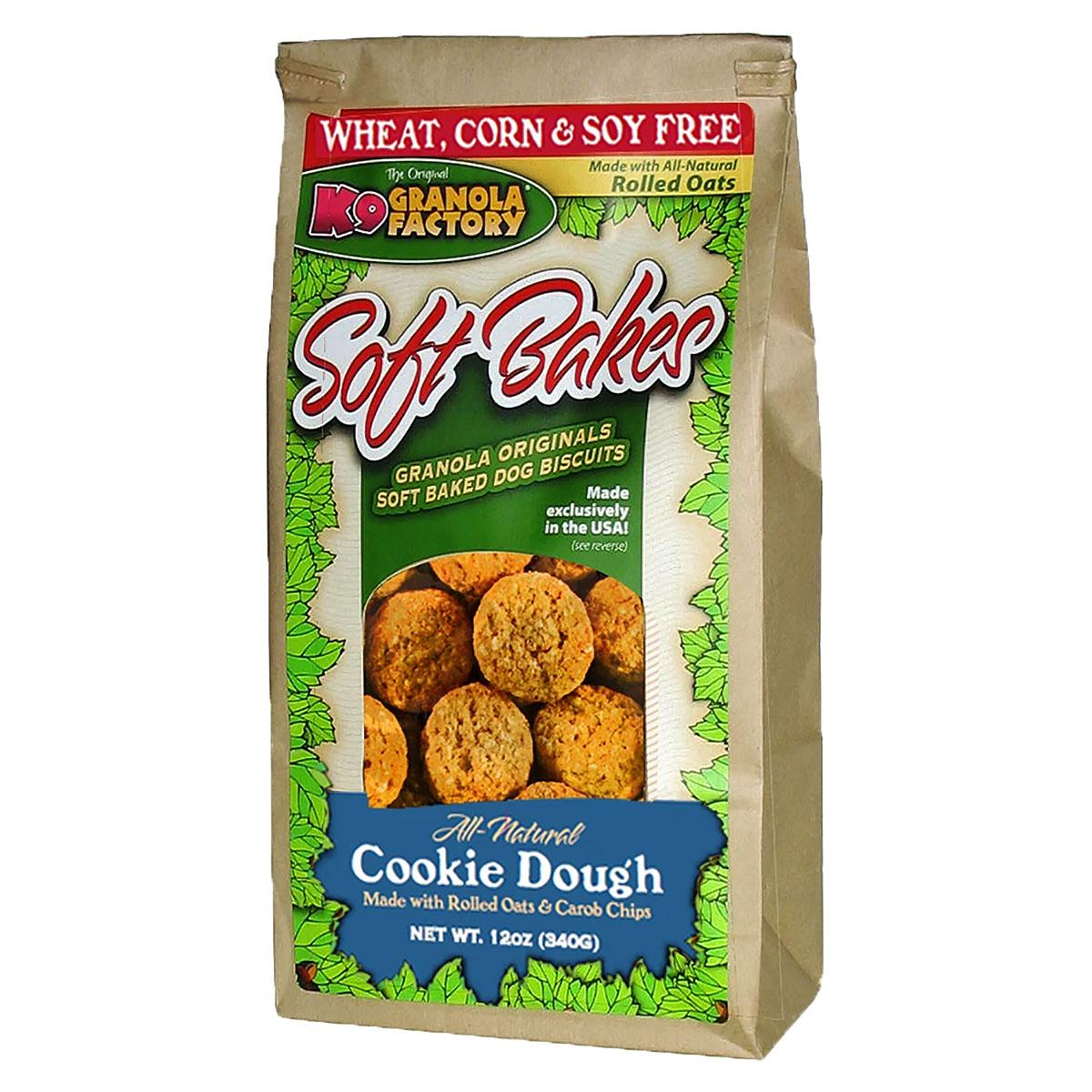 K9 Granola Factory Soft Bakes Dog Treat - Cookie Dough
