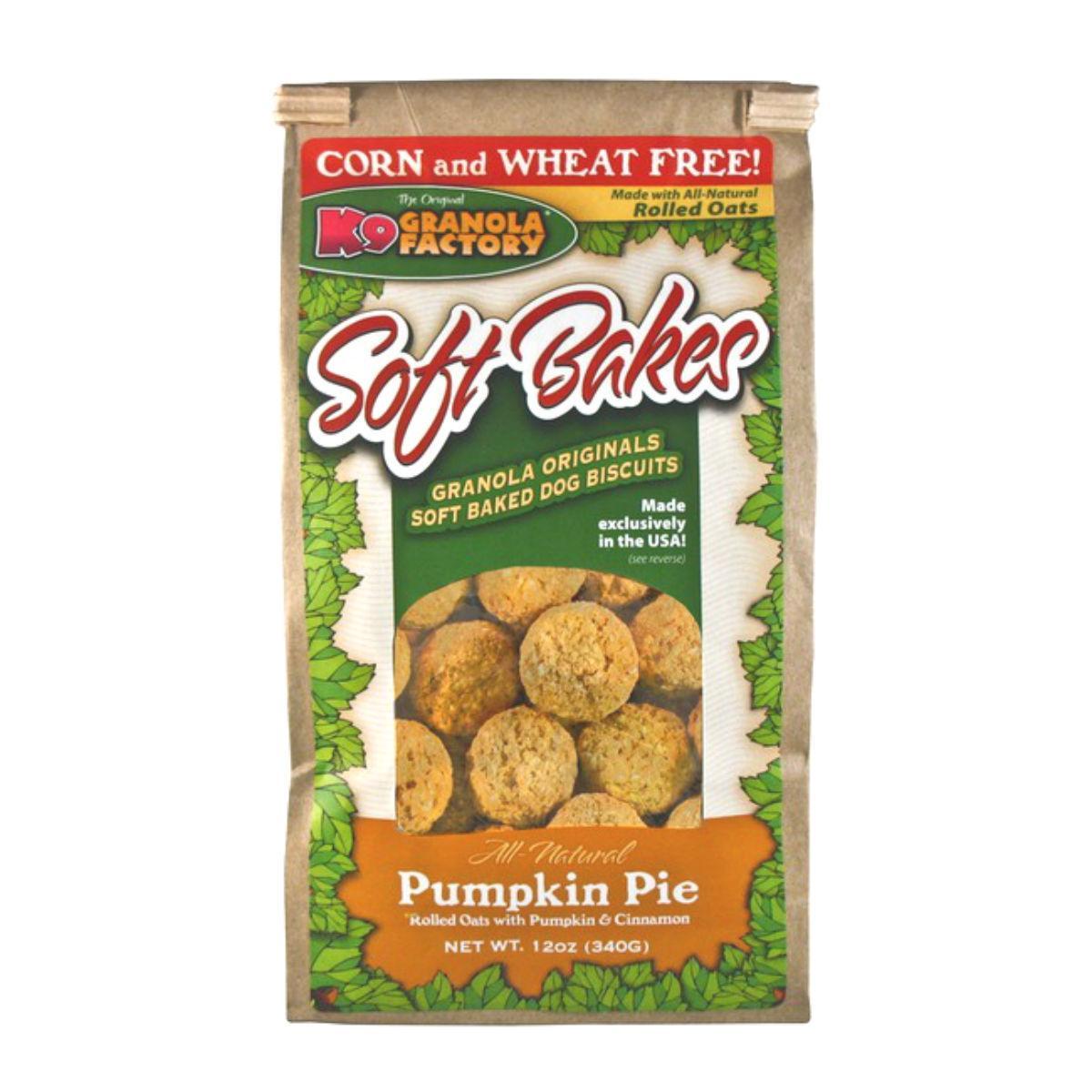 K9 Granola Factory Soft Bakes Dog Treat - Pumpkin Pie