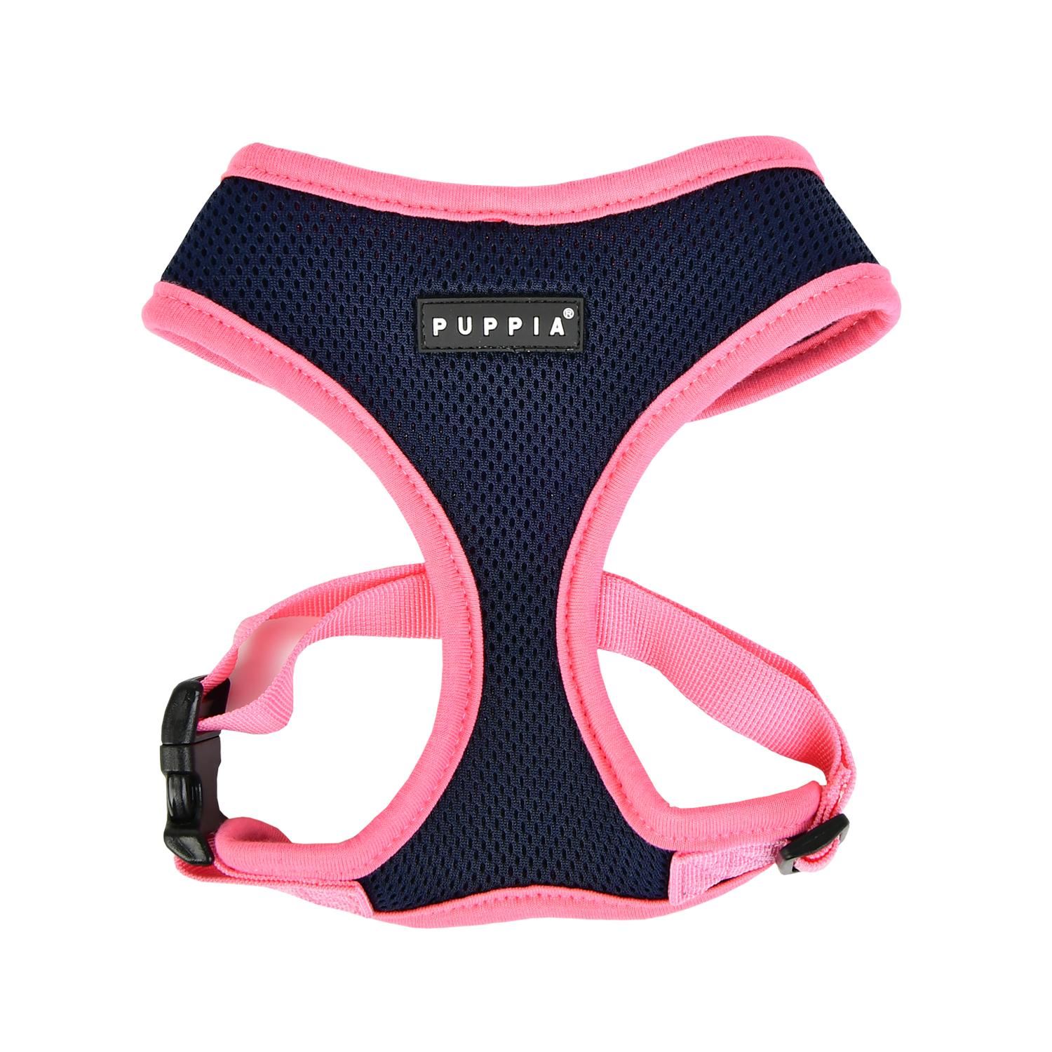 Soft Mesh Dog Harness by Puppia - Navy
