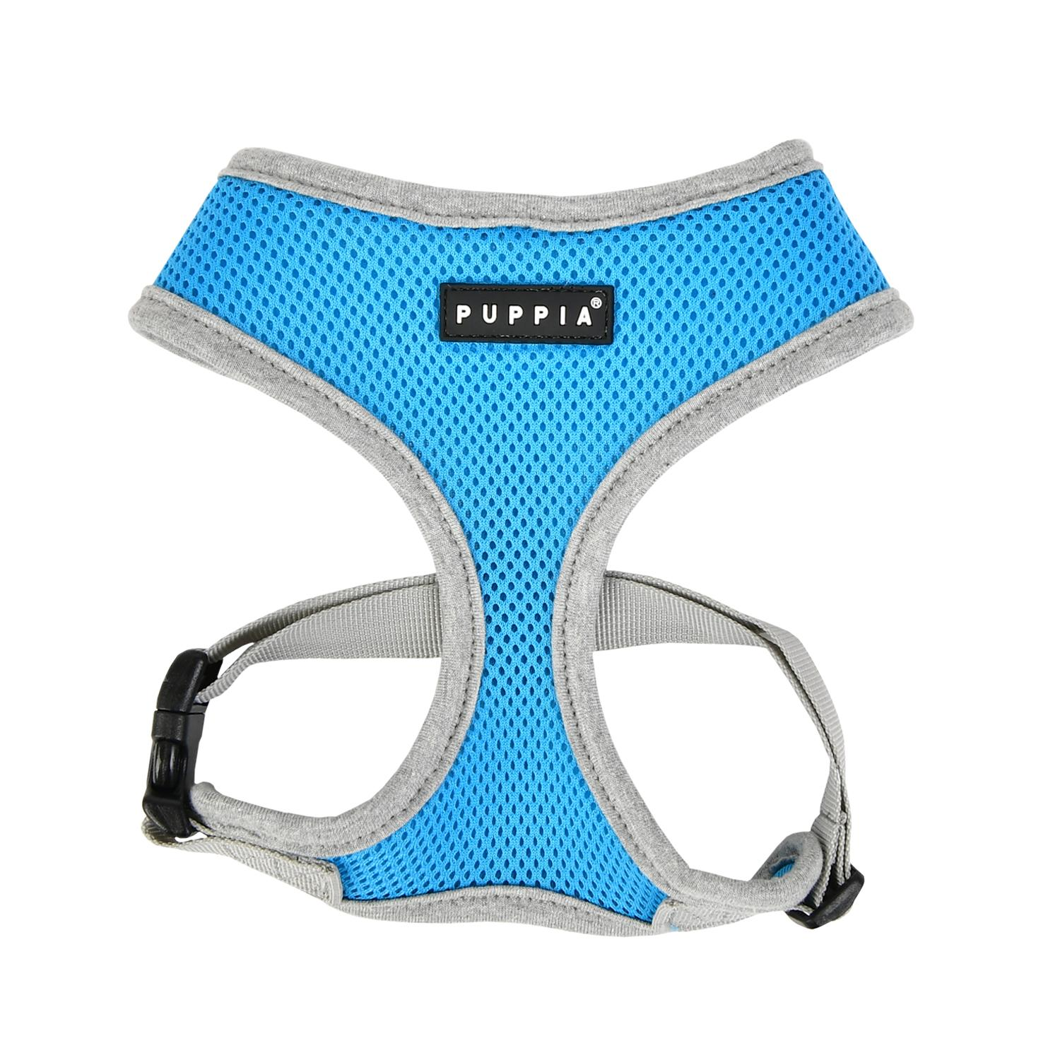 Soft Mesh Dog Harness by Puppia - Sky Blue
