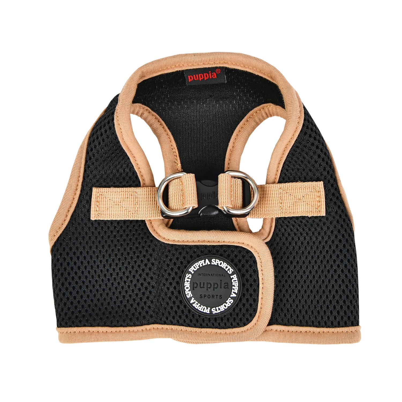Soft Mesh Vest Dog Harness by Puppia - Black