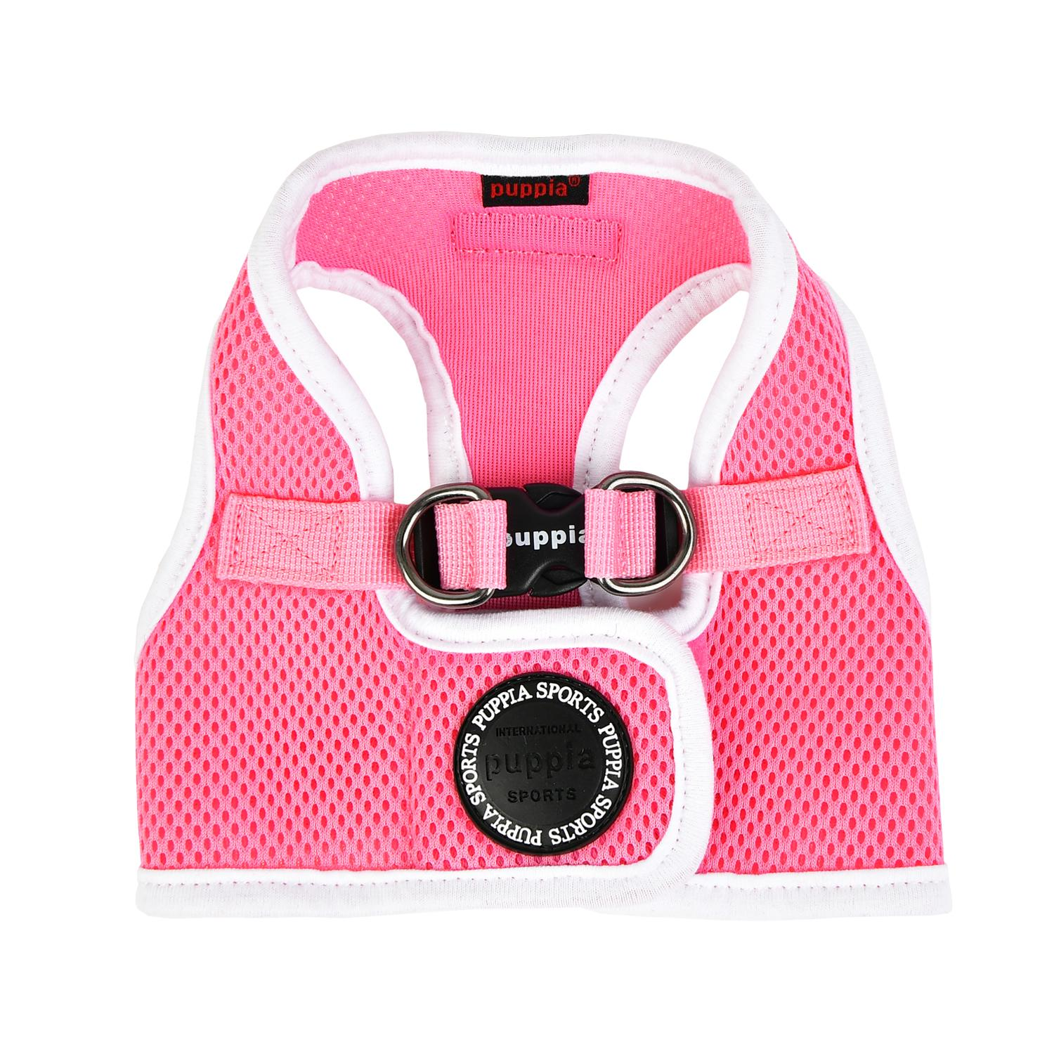 Soft Mesh Vest Dog Harness by Puppia - Pink
