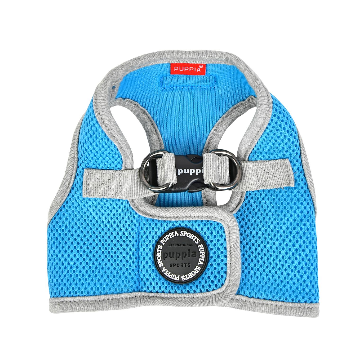 Soft Mesh Vest Dog Harness by Puppia - Sky Blue