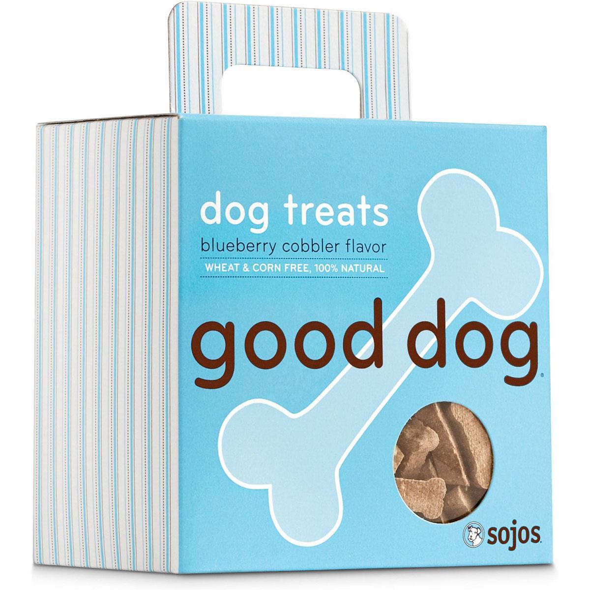 Sojos Good Dog Blueberry Cobbler Dog Treats