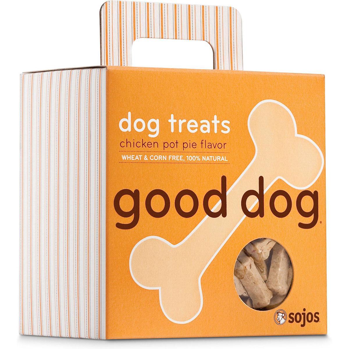 Sojos Good Dog Chicken Pot Pie Dog Treats