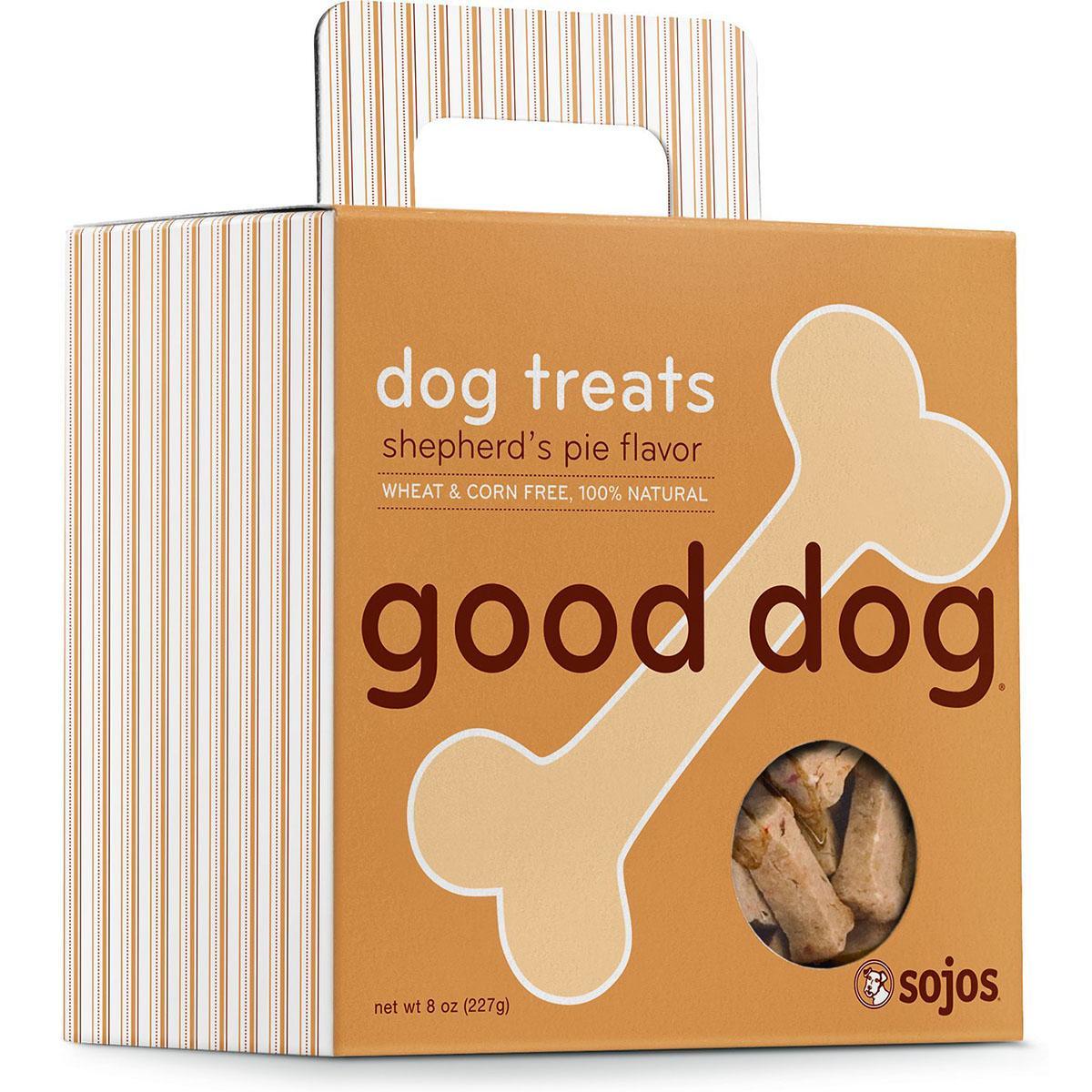 Sojos Good Dog Shepherd's Pie Dog Treats