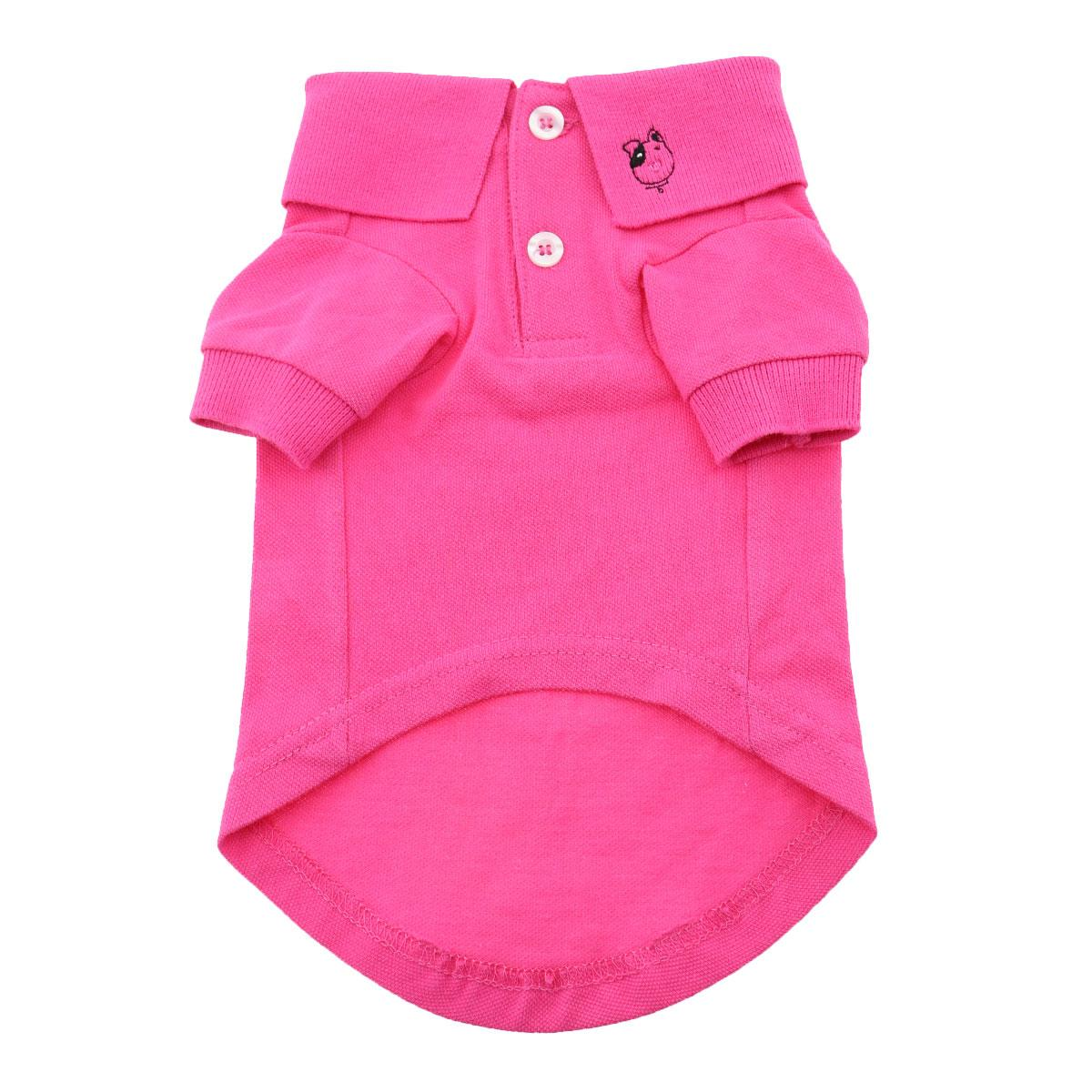 Solid Dog Polo by Doggie Design - Raspberry Sorbet