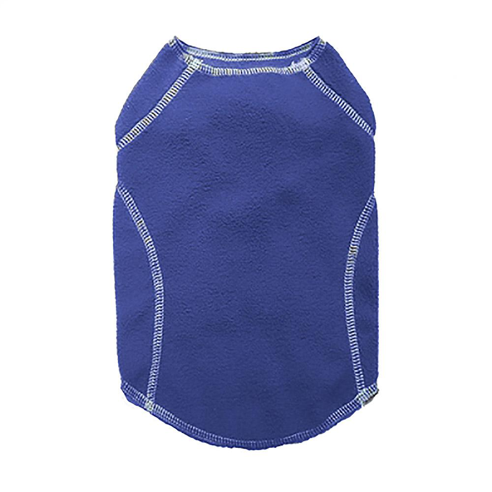 Cloak & Dawggie Stretch Fleece Dog Sweater - Blue