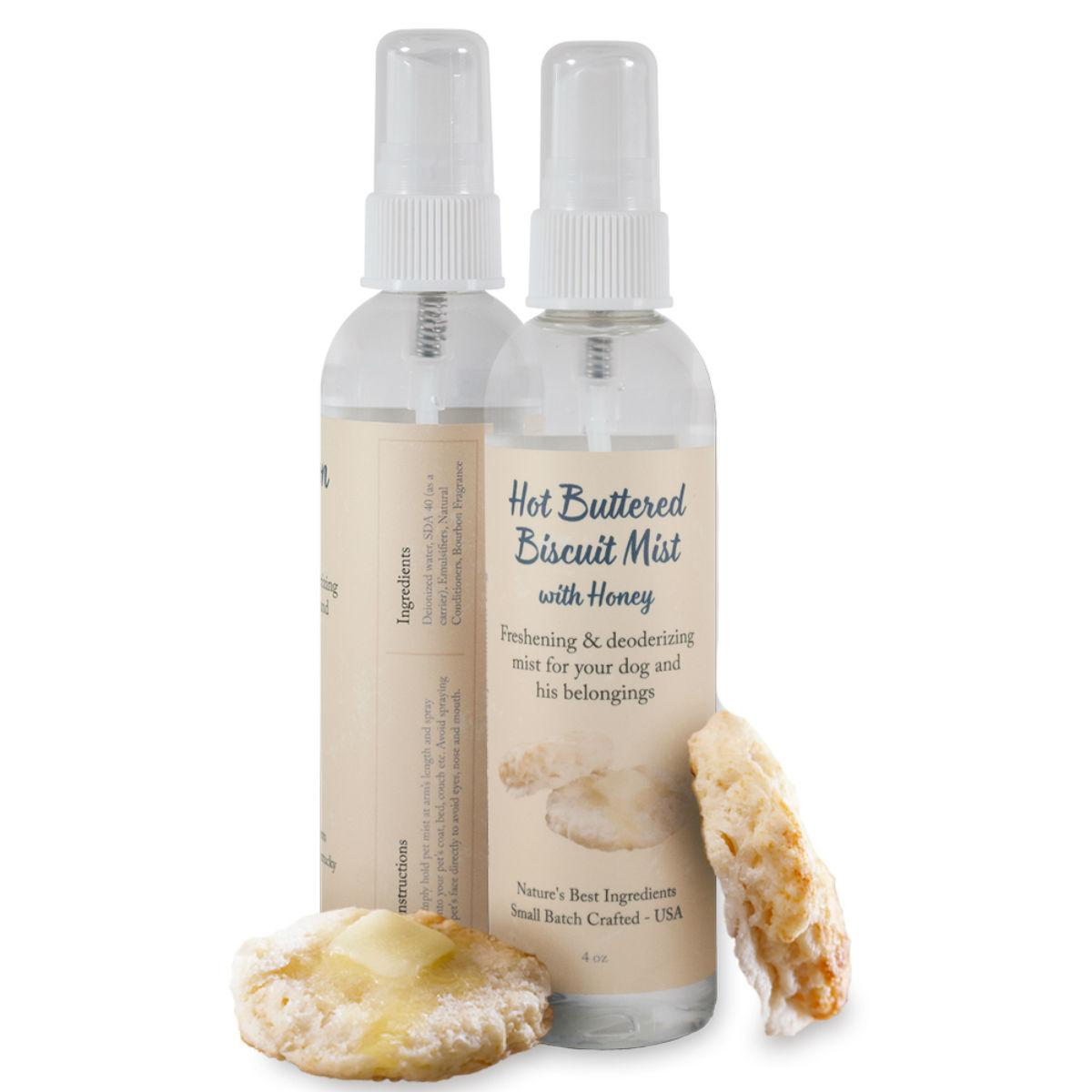Southern Dog Freshening Dog Spray - Hot Buttered Biscuit with Honey Scent