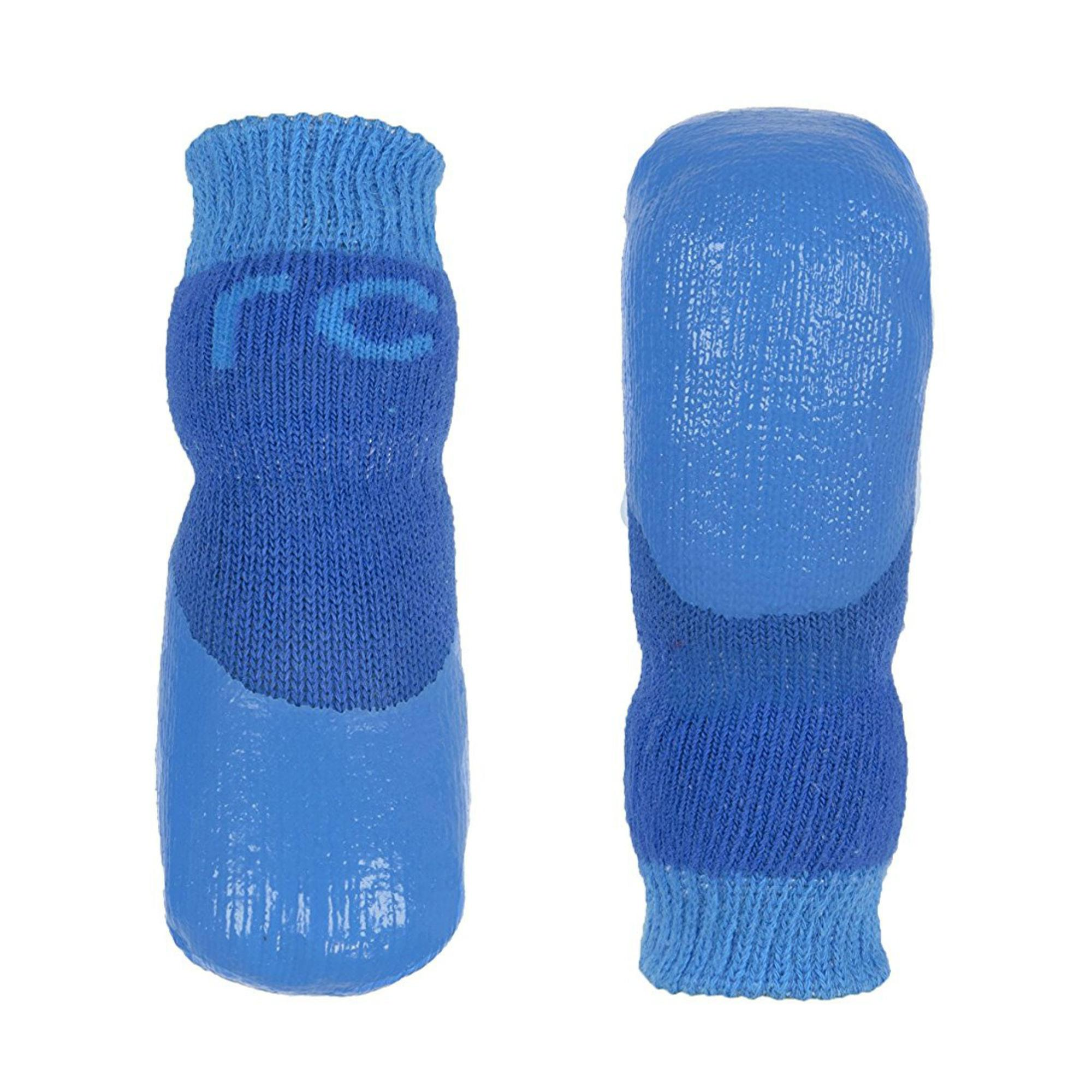 Sport PAWks Dog Socks - Electric Blue/Cyan
