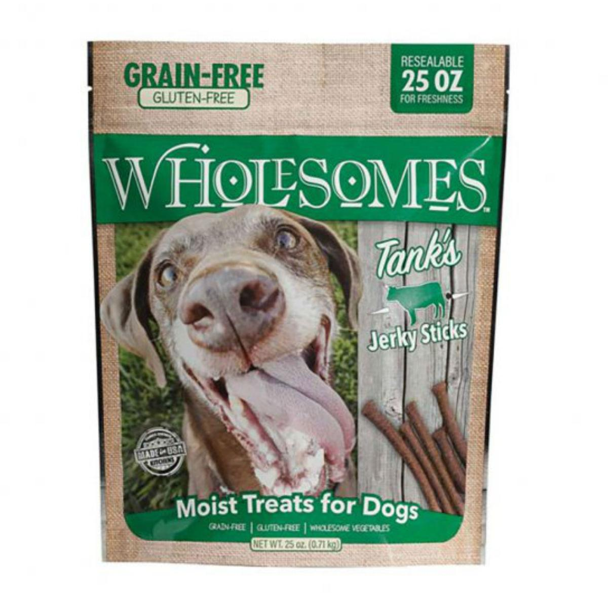 Sportmix Wholesomes Tank's Beef Jerky Sticks Dog Treats