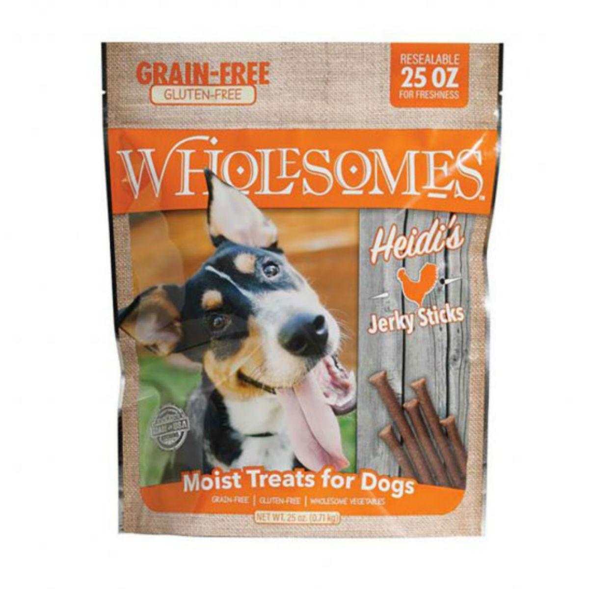 Sportmix Wholesomes Heidi's Chicken Jerky Sticks Dog Treats