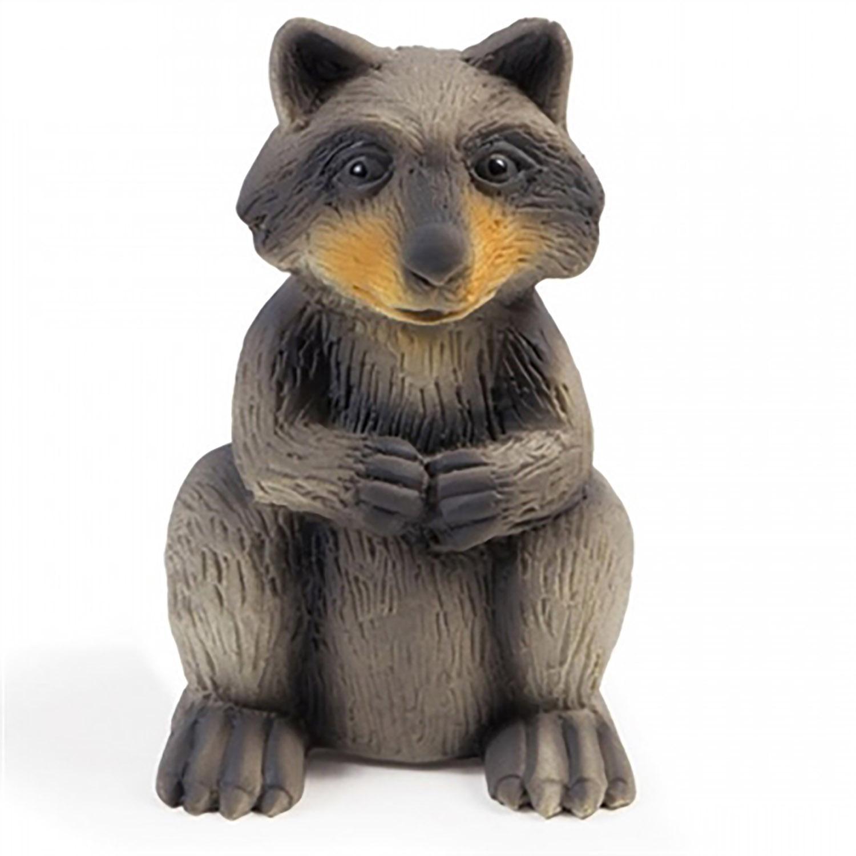 Sportsmen Latex Squeeze Meeze Dog Toy - Raccoon