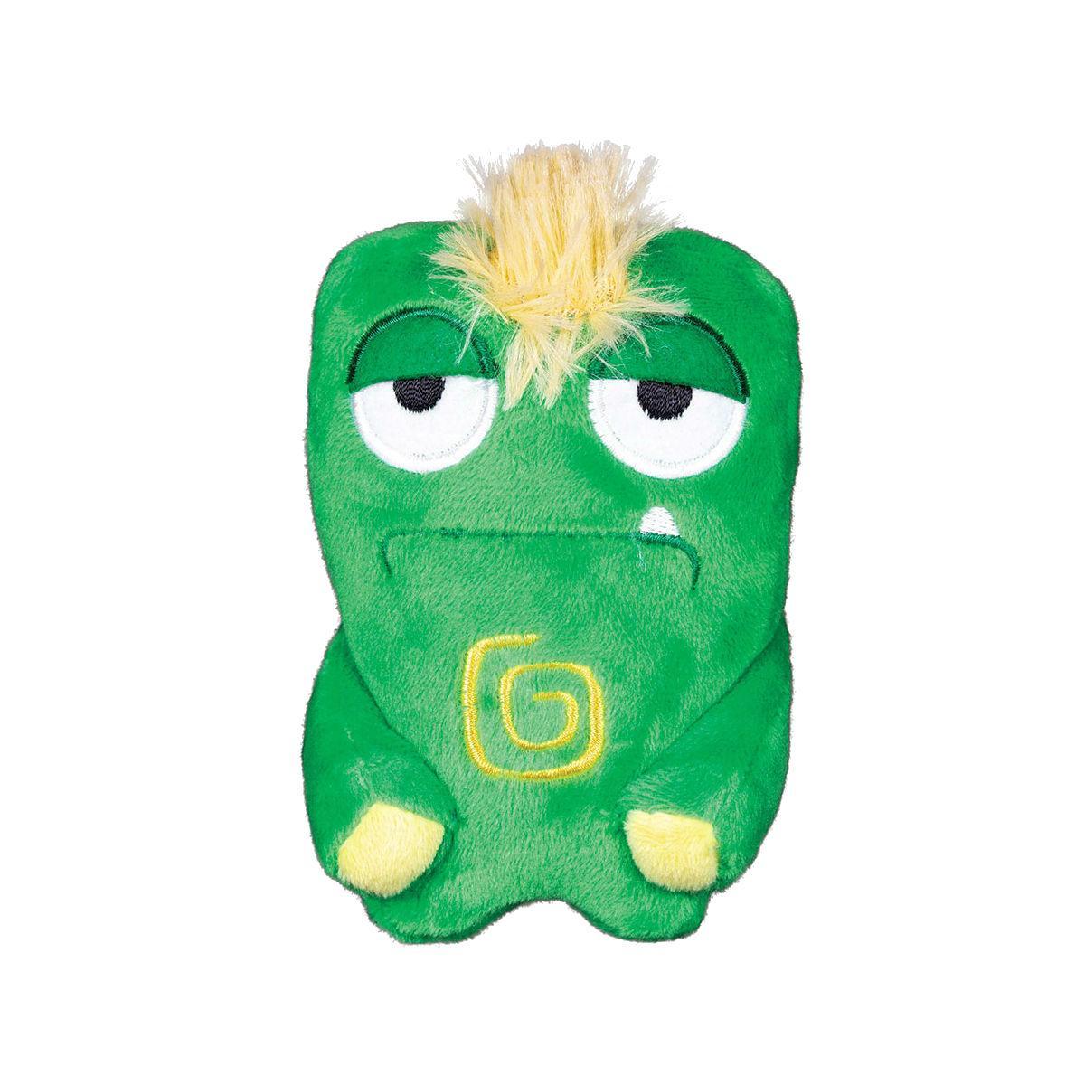 Spunky Pup Alien Flex Plush Dog Toy - Gro