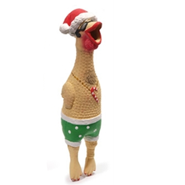 Squawker's Family Dog Toy - Christmas Earl
