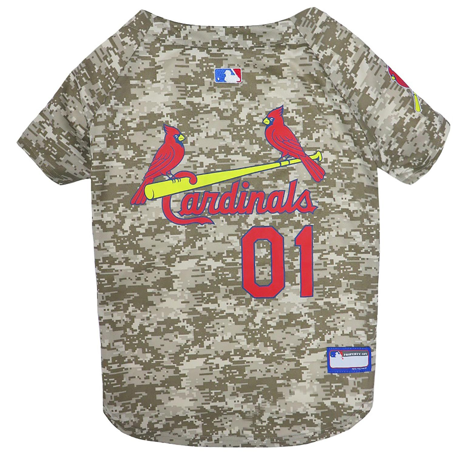 St. Louis Cardinals Dog Jersey - Camo