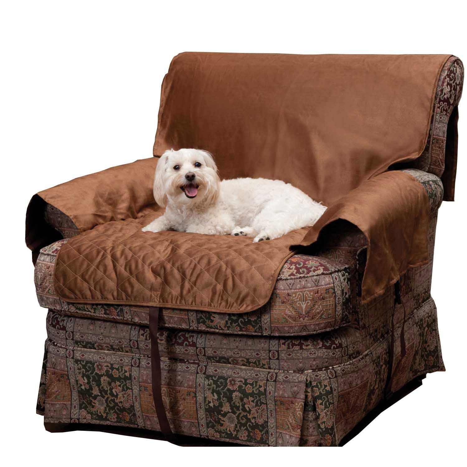 Sta-Put Full Fit Dog Furniture Protector by PetSafe - Cocoa