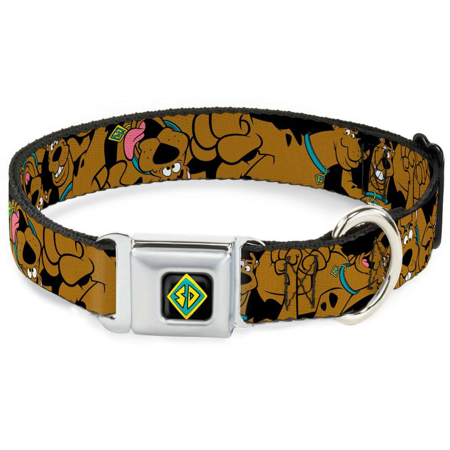 Stacked Scooby Doo Seatbelt Buckle Dog Collar by Buckle-Down