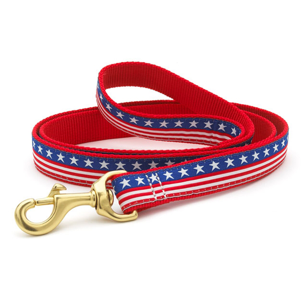Stars and Stripes Dog Leash from Up Country
