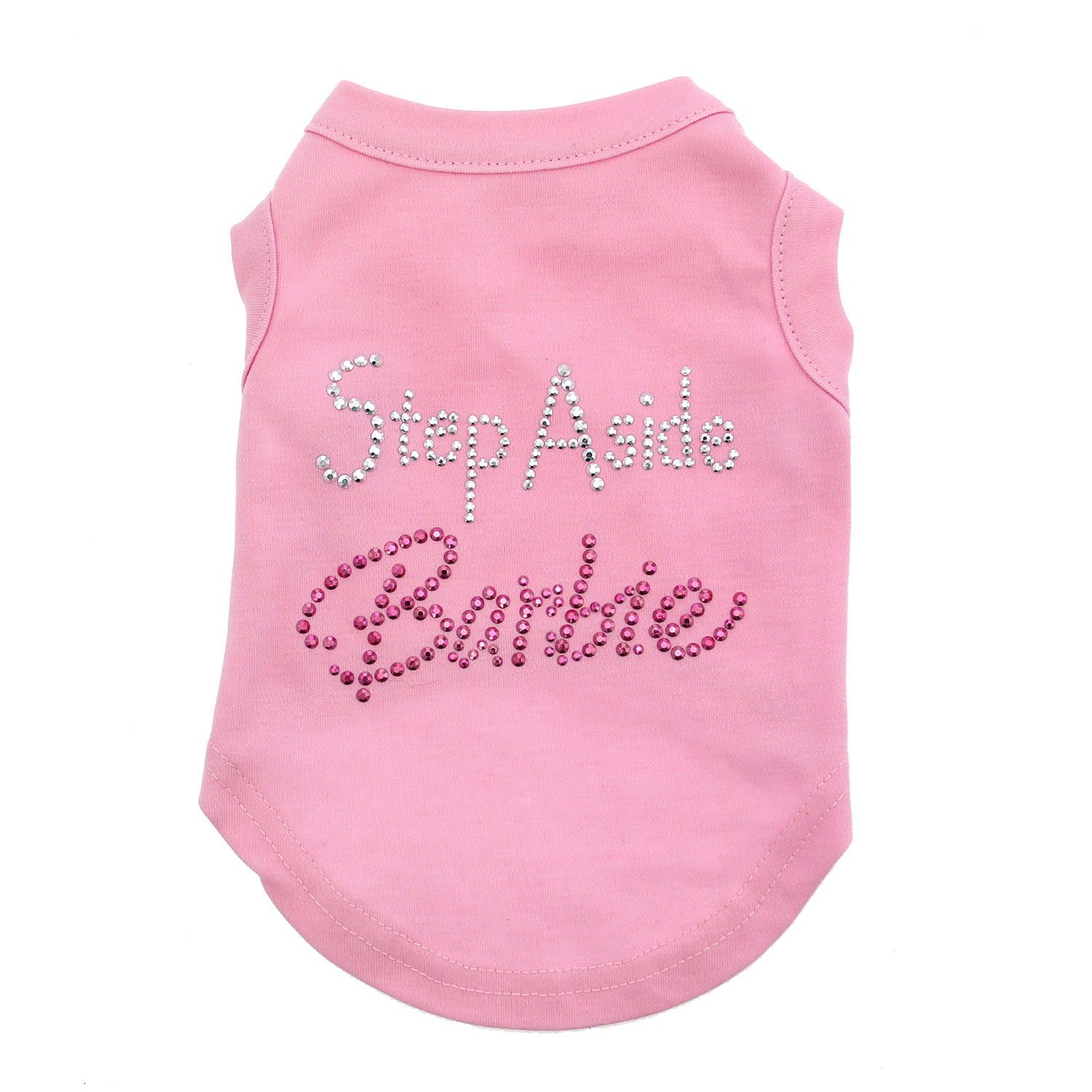 Step Aside Barbie Dog T-Shirt - Light Pink