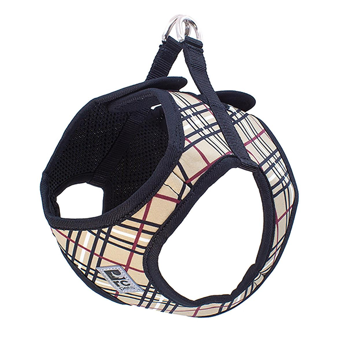 Step-in Cirque Dog Harness - Tan Tartan