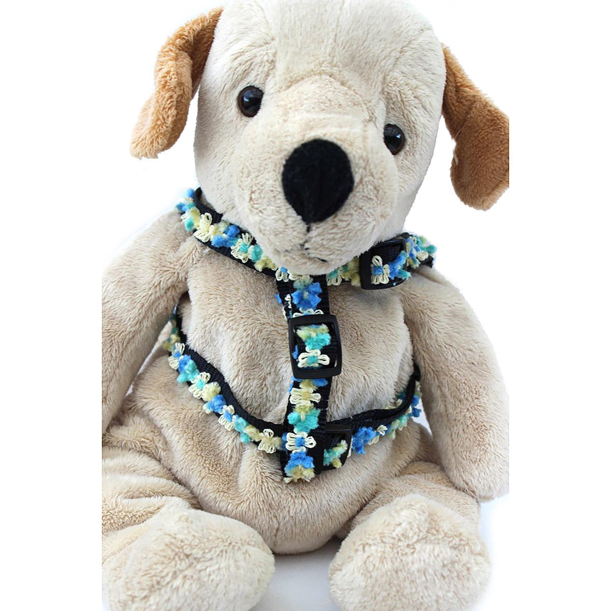 Step-In Dog Harness by Diva Dog - Coco Blue