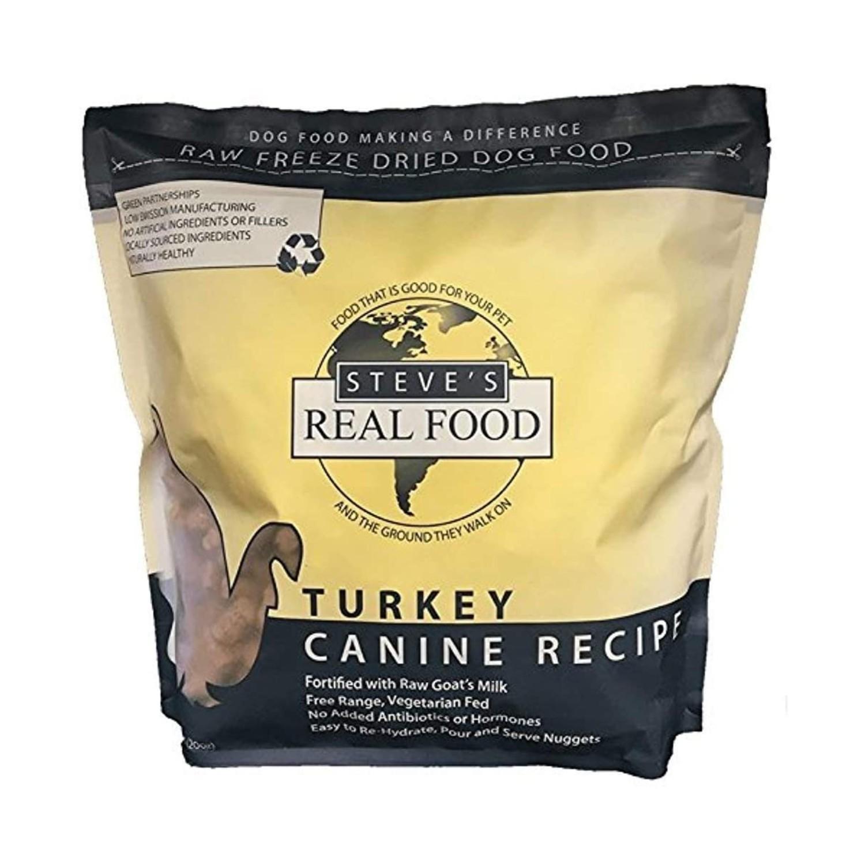 Steve's Real Food Freeze-Dried Raw Nuggets Pet Treats - Turkey