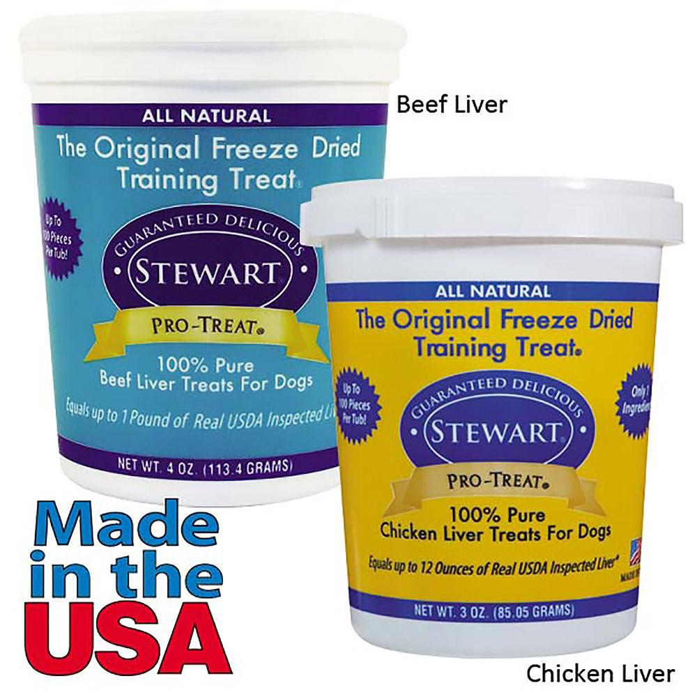 Stewart Gimborn Freeze-Dried Dog Treats
