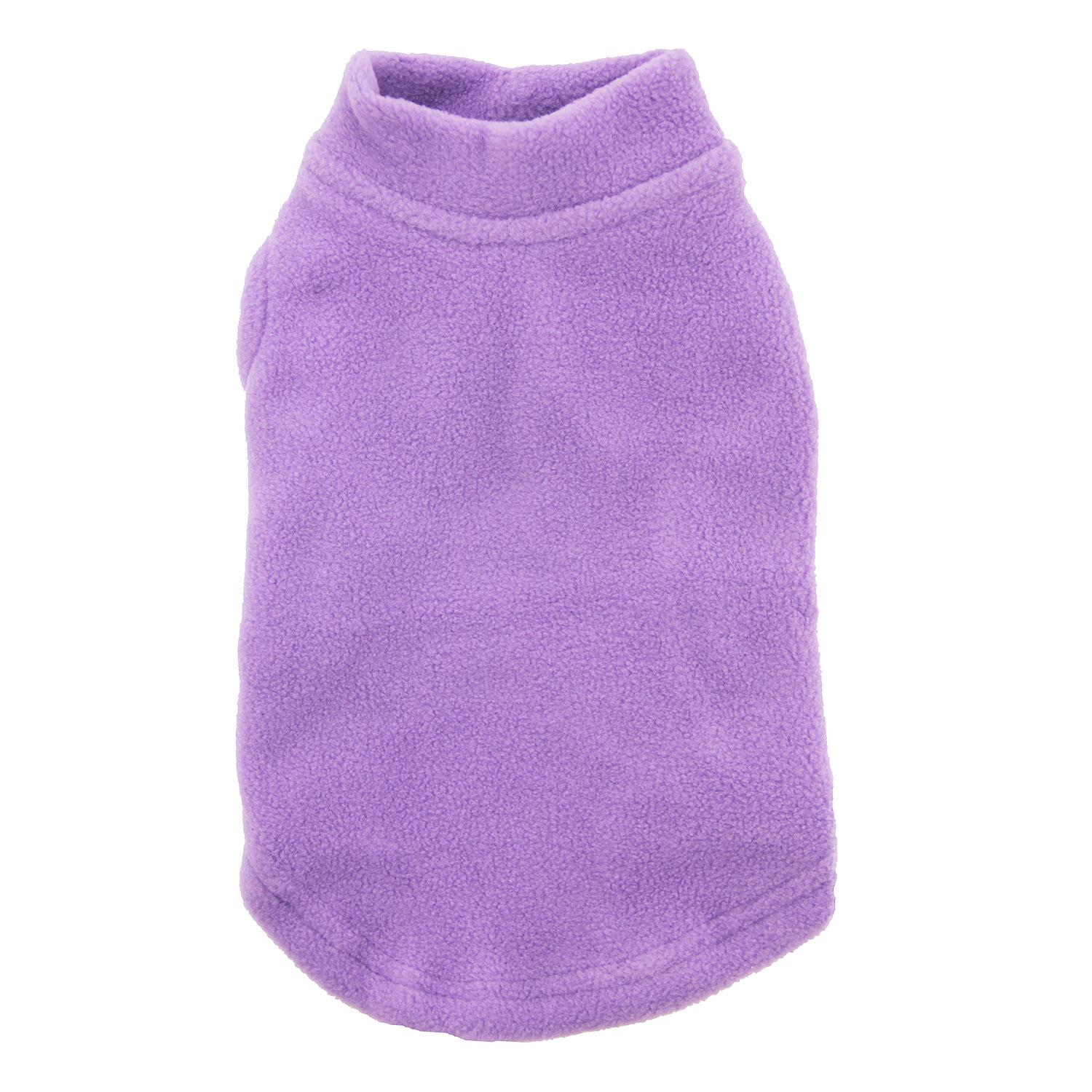 Stretch Fleece Dog Vest by Gooby - Lavender