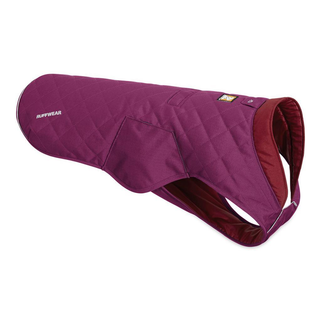 Stumptown Dog Jacket by RuffWear - Larkspur Purple