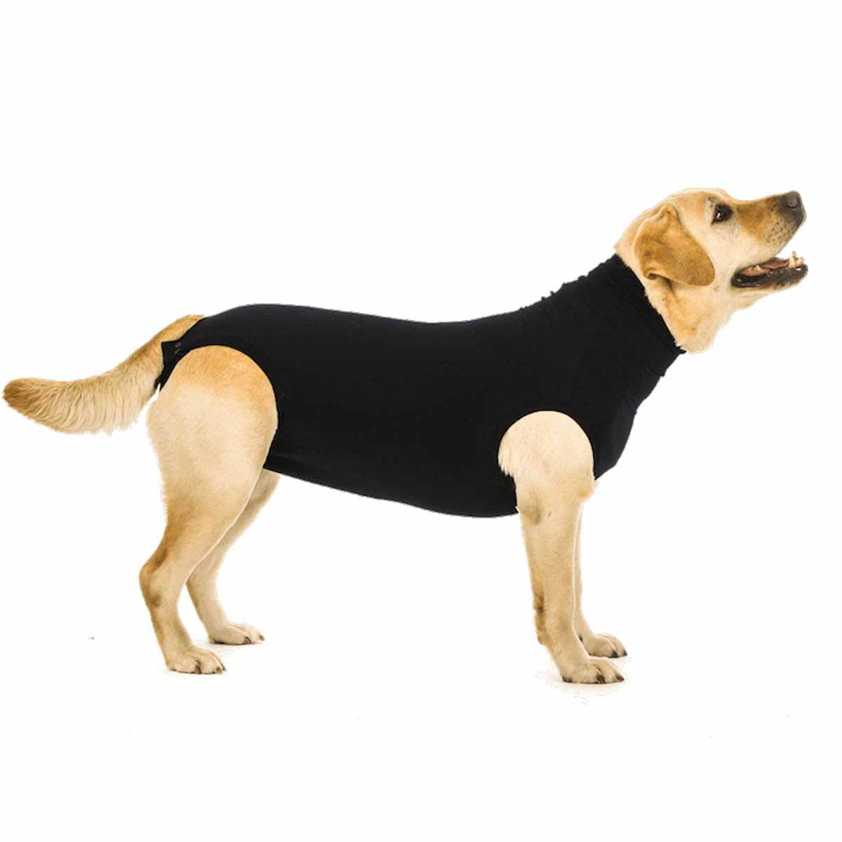 Suitical Dog Recovery Suit - Black