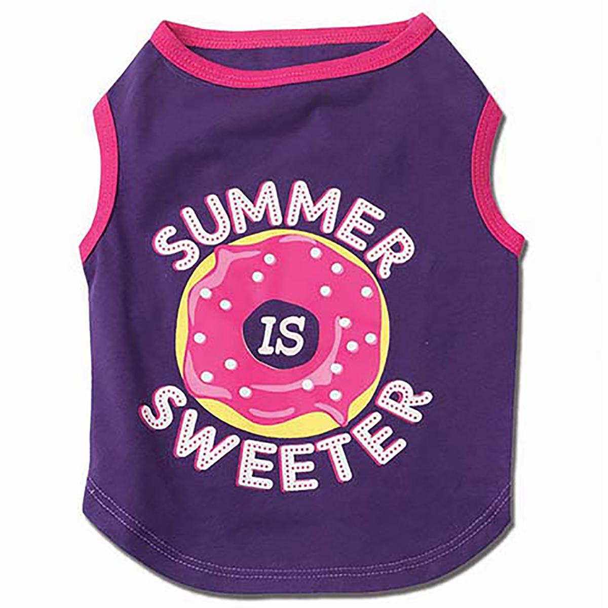 Summer is Sweeter Dog T-Shirt