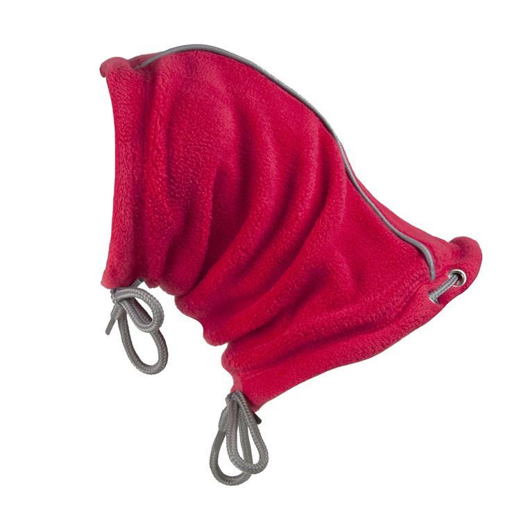 Summit Snood Dog Neck Gaiter - Red/Gray