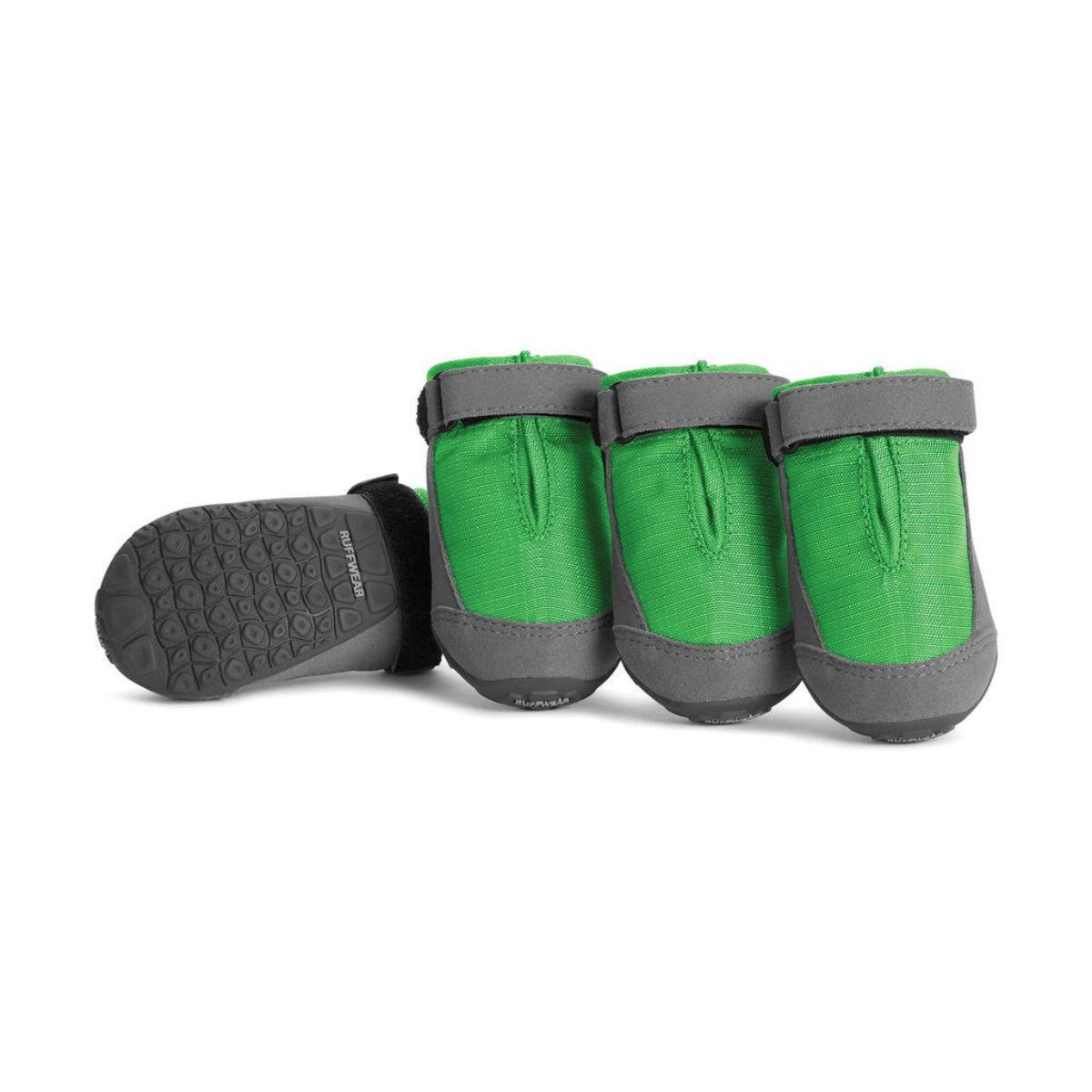 Summit Trex Dog Boots by Ruffwear - 4 Pack - Meadow Green