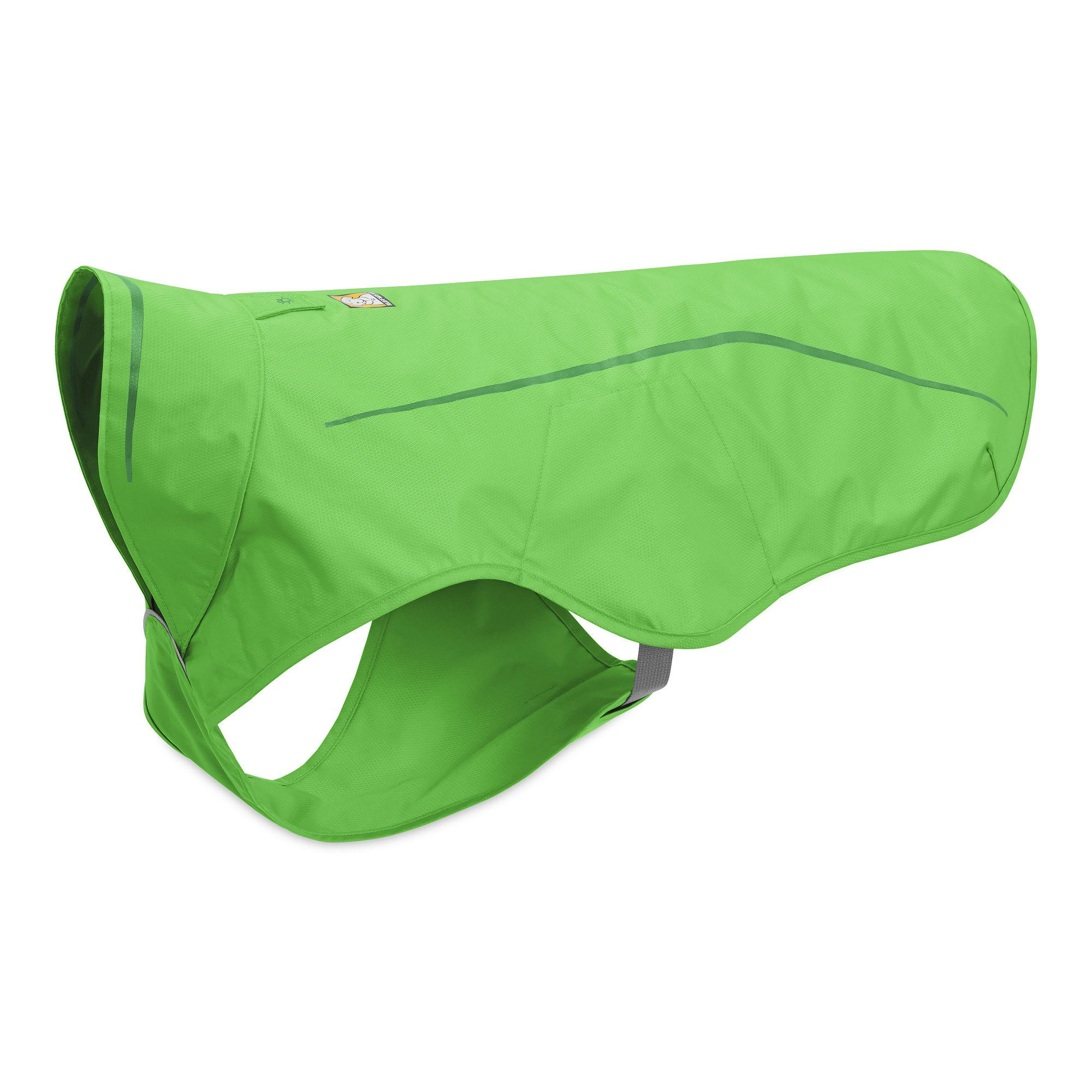 Sun Shower Dog Rain Jacket by RuffWear - Meadow Green